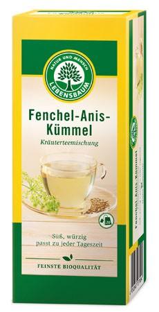 Lebensbaum Fenchel-Anis-Kümmel 20 Beutel