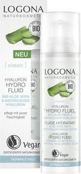 LOGONA CLASSIC Hyaluron Hydro Fluid Bio-Aloe Vera & Hyaluron 30ml