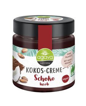 agava Kokos-Creme Schoko herb 200g