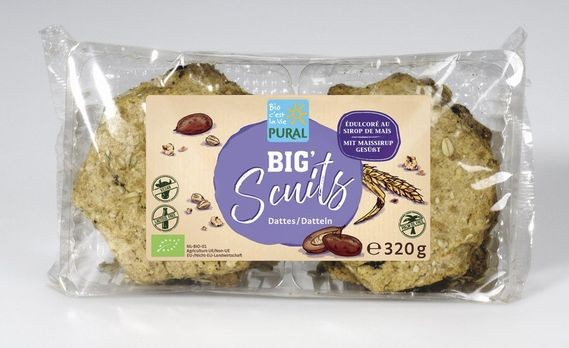Pural Big Scuits Dattel 320g