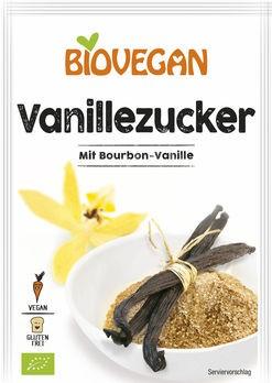 Biovegan Vanillezucker 4x8g
