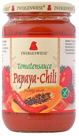 Zwergenwiese Tomatensauce Papaya-Chili 350g