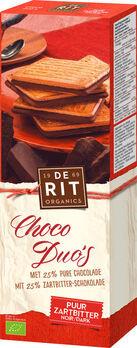 De Rit Choco Duos Zartbitter 150g