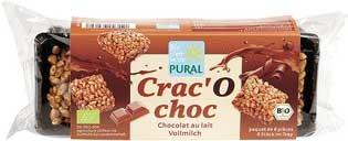 Pural Crac'O Choc Puffreis Schoko-Happen mit Vollmilchschokolade 80g