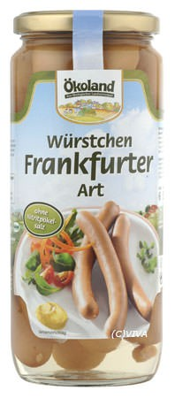 ökoland Frankfurter Würstchen 250g