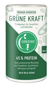 GREENIC Grüne Kraft Superfood Trinkpulver-Mischung 150g