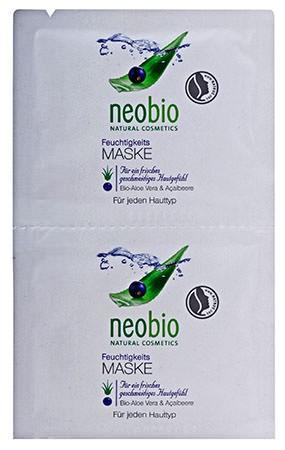 neobio Feuchtigkeitsmaske 15ml