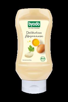Byodo Delikatess Mayonnaise, 80% Fett, PET-Flasche 300ml