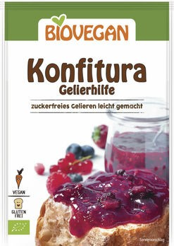 Biovegan Konfitura Geliermittel 22g