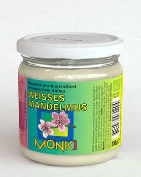 Monki weißes Mandelmus 330g