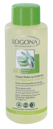 LOGONA Augen Make up-Entferner Bio-Rose & Bio-Aloe 100ml