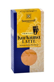 Sonnentor Kurkuma Latte Vanille Gewürztee 60g
