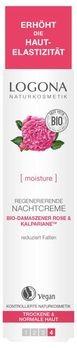 LOGONA regenerierende Nachtcreme Bio-Damaszener Rose & Kalpariane 30ml