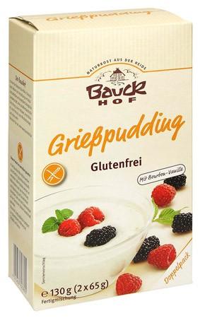 Bauckhof Grießpudding, glutenfrei 2x65g
