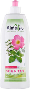 AlmaWin Spülmittel Wildrose Melisse 500ml