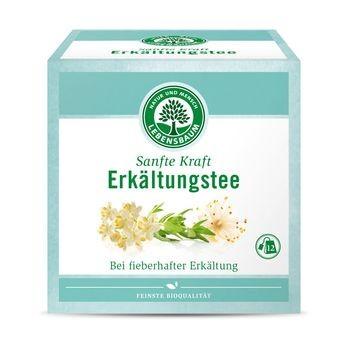 Lebensbaum Erkältungstee Sanfte Kraft Heilkräutertee 12x2,0g-Beutel