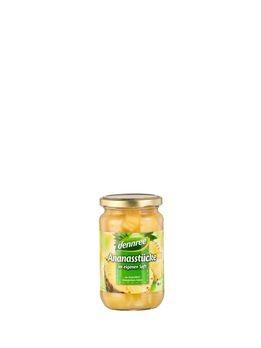 dennree Ananas-Stücke im eigenen Saft 350g