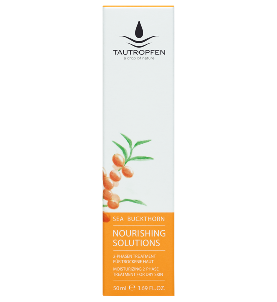 Tautropfen Nourishing Sanddorn 2-Phasen Treatment Gesichtsfluid 50ml