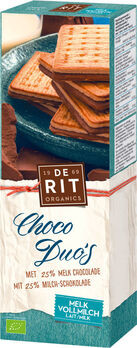 De Rit Choco Duos Vollmilch 150g