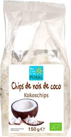 Pural Kokos-Chips 150g