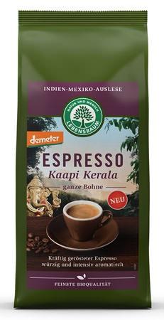 Lebensbaum Espresso Kaapi Kerala Bohne demeter 250g