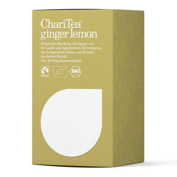 ChariTea ginger lemon Doppelkammerbeutel 20 x 2g