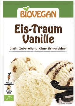 Biovegan Eis-Traum Vanille, Eispulver 77g
