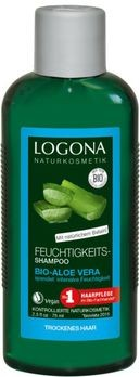 LOGONA Feuchtigkeits-Shampoo Bio-Aloe Vera Kleingröße 75ml