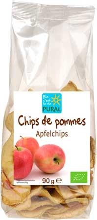 Pural Apfelchips 90g