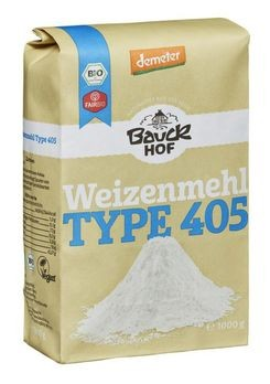 Bauckhof Weizenmehl hell Typ 405 demeter 1kg