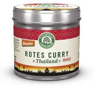 Lebensbaum Rotes Curry Gewürzmischung demeter 55g