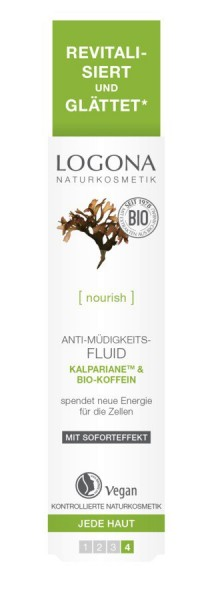 LOGONA Anti-Müdigkeitsfluid Kalpariane & Bio-Koffein 30ml
