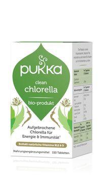 PUKKA Clean Chlorella Tabletten 150 Stück