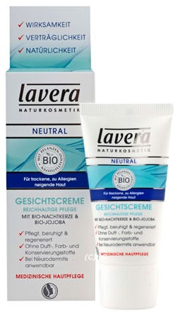 Lavera NEUTRAL Gesichtscreme intensiv 30ml