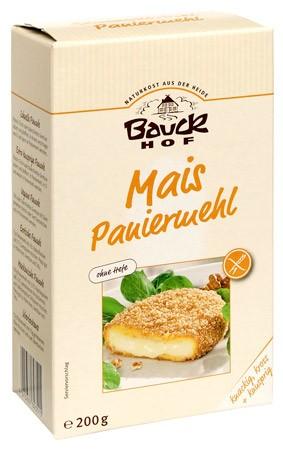 Bauckhof Mais-Paniermehl ohne Hefe glutenfrei 200g