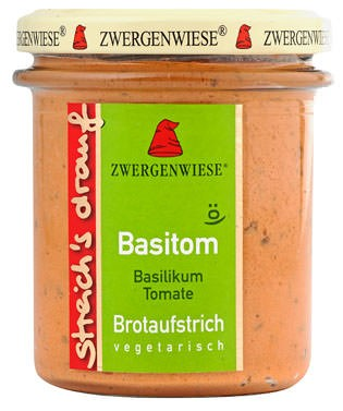 Zwergenwiese streichs drauf Basitom Brotaufstrich 160g