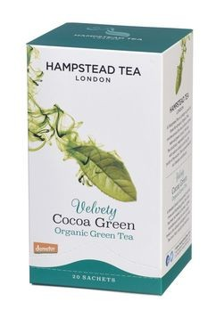 Hampstead Tea Cocoa Green demeter 20 Beutel