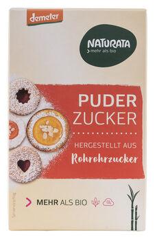 Naturata Puderzucker aus Rohrohrzucker demeter 125g