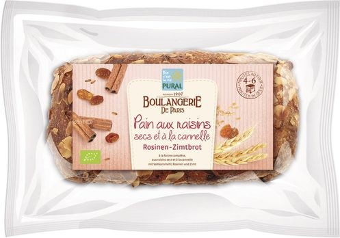 Pural Rosinen-Zimt-Brot 620g