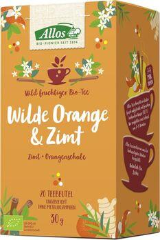 Allos Tee Wilde Orange Und Zimt 20 Btl