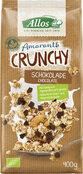 Allos Amaranth Crunchy Schokolade 400g