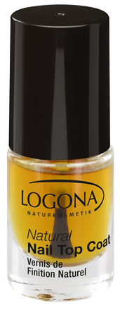LOGONA Natural Nails Polish Top Coat 4ml