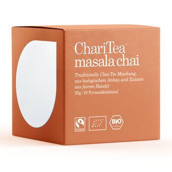 ChariTea masala chai Pyramidenbeutel 10 x 2,5g