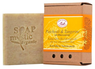 Soap Mystic Bio-Naturseife Patchouli und Tangerine 110g