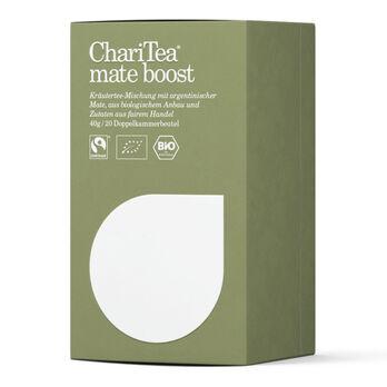 ChariTea mate boost Doppelkammerbeutel 20 x 2g