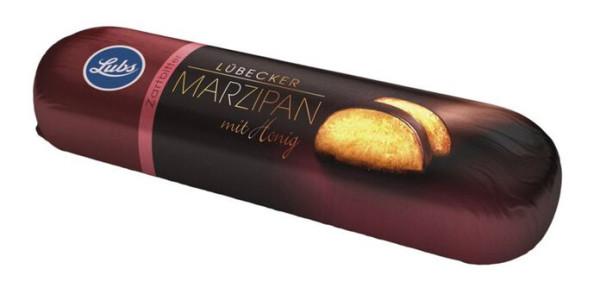 Lubs Marzipanbrot mit Honig und Zartbitterschokolade 50g
