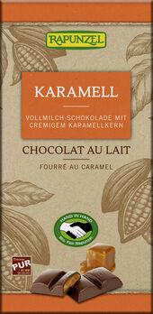 Rapunzel Karamel Vollmilch Schokolade 100g