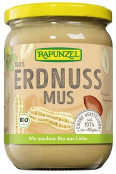 Rapunzel Erdnussmus fein ohne Salz 500g