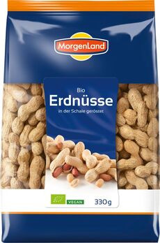 MorgenLand Erdnüsse in der Schale 330g