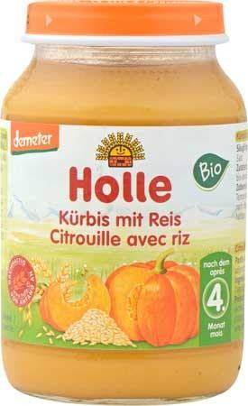 Holle Kürbis mit Reis demeter 190g